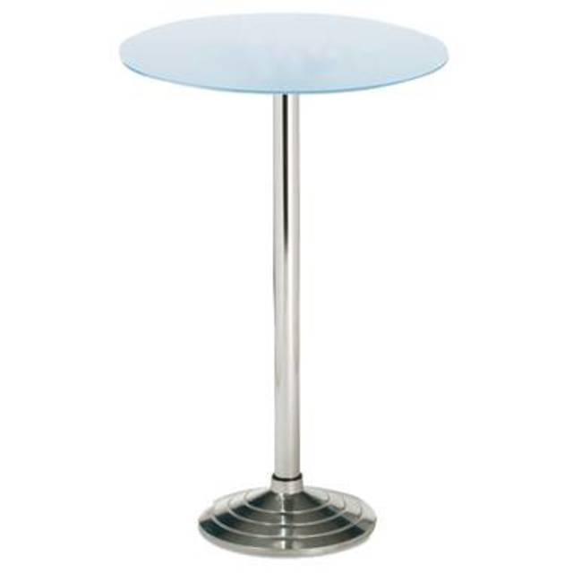 stehtisch coto 70 80 cm h he 122 cm glas sandgestrahlt orga 24013710 eurocis 2018. Black Bedroom Furniture Sets. Home Design Ideas